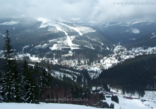Великолепные горнолыжные курорты Чехии