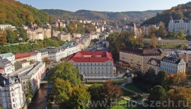 Город Карловы Вары Чехия